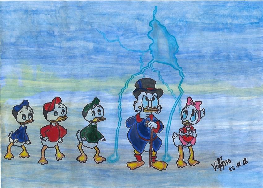 Scrooge McDuck par Van